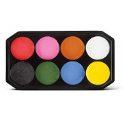 Face Paint Palette with Applicator (8 Colours)