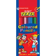 Coloured Pencils Texta (Pack of 12)