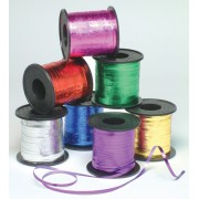 Ribbon Curling Metallic Green - 225 Metres (Each)