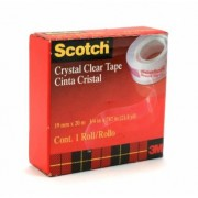 Sticky Tape Scotch Crystal Clear 19mm x 20m (Each)