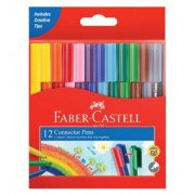 Faber Castell Connector Pens (Pack of 12)