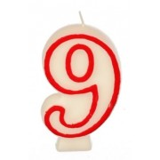 Candle - Number 9 Each