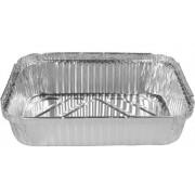 Foil Takeaway Tray w/ Lid - Extra Small (Each)