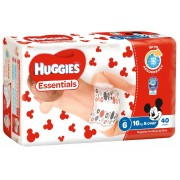 Huggies Nappies Size 6 - Junior (Box of 160)
