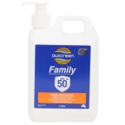 Auscreen Sunscreen SFP50+ (1 Litre)