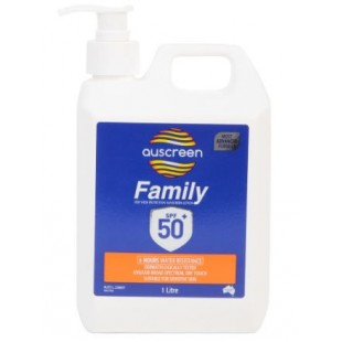 Auscreen Sunscreen SFP50+ 1L