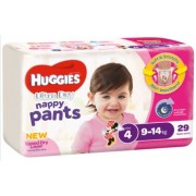Huggies Nappy Pants - Toddler Girl (Pack of 29)