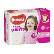 Huggies Nappy Pants - Walker Girl (Pack of 26)