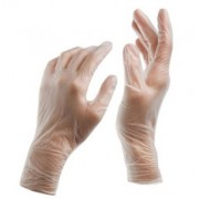 Vinyl Powder Free Gloves - Small (Box of 100)