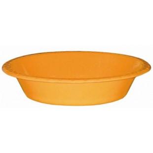 Orange 172mm Bowl (Pack of 25)