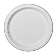 Deluxe White 180mm Round Side Plate (Pack of 50)