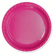Magenta 172mm Side Plates (Pack of 25)