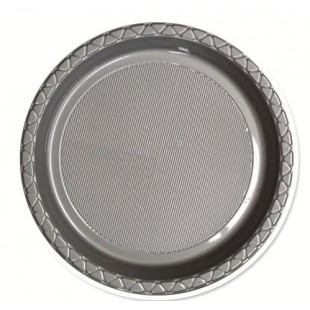 Silver 260mm Banquet Plates (Pack of 25)