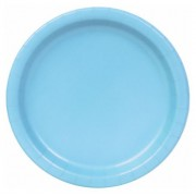 Pastel Blue 172mm Side Plates (Pack of 25)