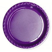 Purple 172mm Side Plates (Pack of 25)