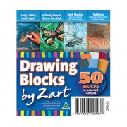 Drawing Blocks Crayons 50 Pack