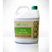Naked Earth Biodegradable Spray & Wipes (5 Litre)