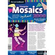 Mosaic Cardboard Triangular Pack of 2000
