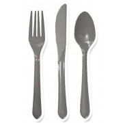 Silver Cutlery (Set of 25)