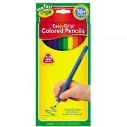 Coloured Pencils Triangular East Grip 10 Pack