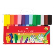 Faber Castell Connector Pens Jumbo (Pack of 12)