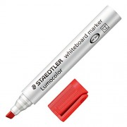 Whiteboard Marker Chisel- Red