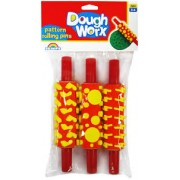 Rolling Pin With Shapes 3 Pack