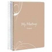 Notebook My Meetings Spirax A5