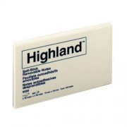 Post It Notes Highland 73mmx123mm 12 Pack