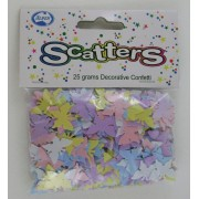 Party Sactters Pastel Butterflies 14GM