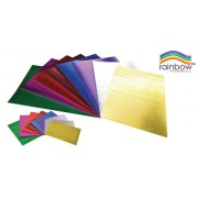 Corrugated Craft Board 500X700 Metallic Asst 8 Pack