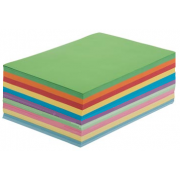Copy Paper A4 Assorted Colours (Pack of 500)