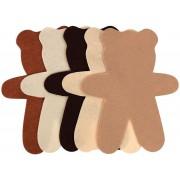 Felt Teddy Bears 15cm 30 Pack