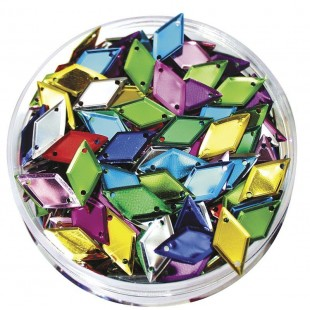 Sequins Coloured Diamonds (50g)