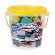 Mosaic Glass Asst 25x25mm 1kg