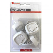Electrical Safety Plug Covers (Pack of 6)