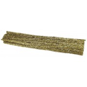 Tinsel Stems Gold 100 Pack