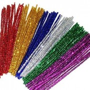 Chenille Tinsel Assorted (Pack of 50)