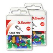 Chart Pins - Asst 50pk