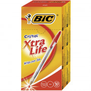 Pen Bic Cristal Red 50s