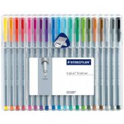 Pen Staedtler Fine Tip Triplus 20 pack