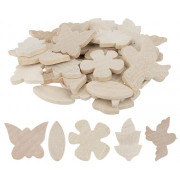 Wooden Shapes - Nature 30 Pack