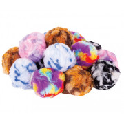 Pom Poms Multicoloured/Rainbow 70mm 15 Pack