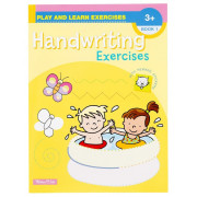 Play and Learn Exercises Handwriting Book 1