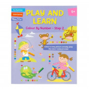 Play and Learn Activity - Colour By Number Step 2
