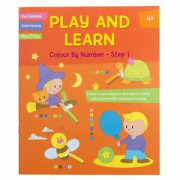 Play and Learn Activity - Colour By Number Step 1