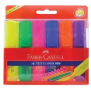 Highlighters Assorted Colours (Pack of 6)