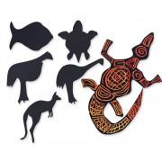 Scratch Australian Animals 30's