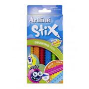Sharpie Drawing Pens Artline Stix Pack 6 Assorted Colours