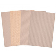 Corrugated Natural Card A4 20's